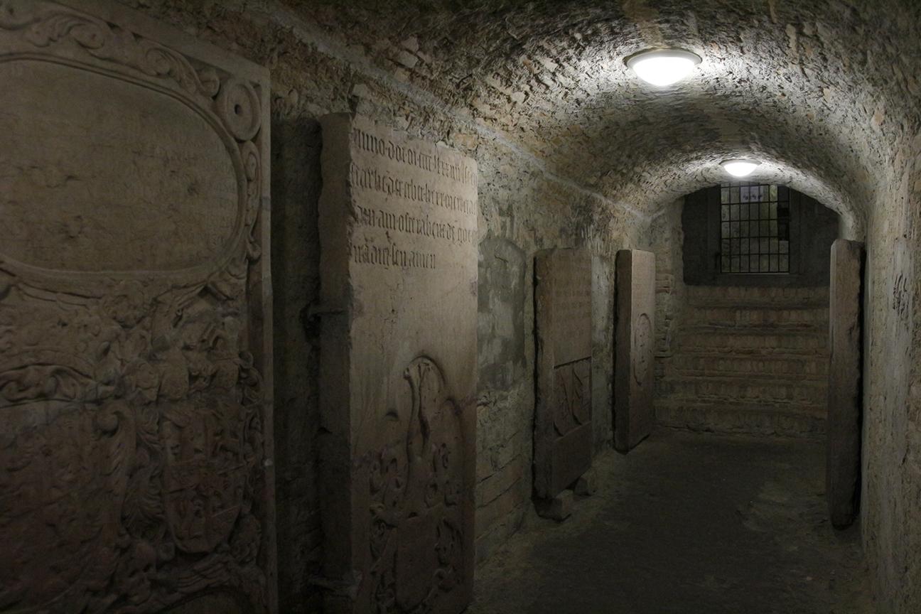 Catacumbas de la catedral de Bratislava