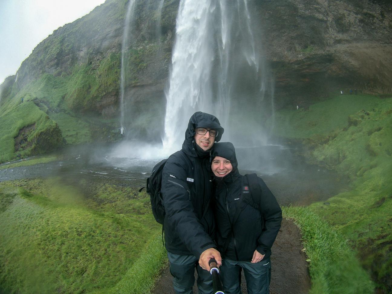 Catarata seljalandsfoss en Islandia