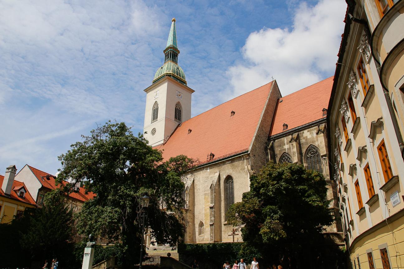 Catedral de San Martin Bratislava