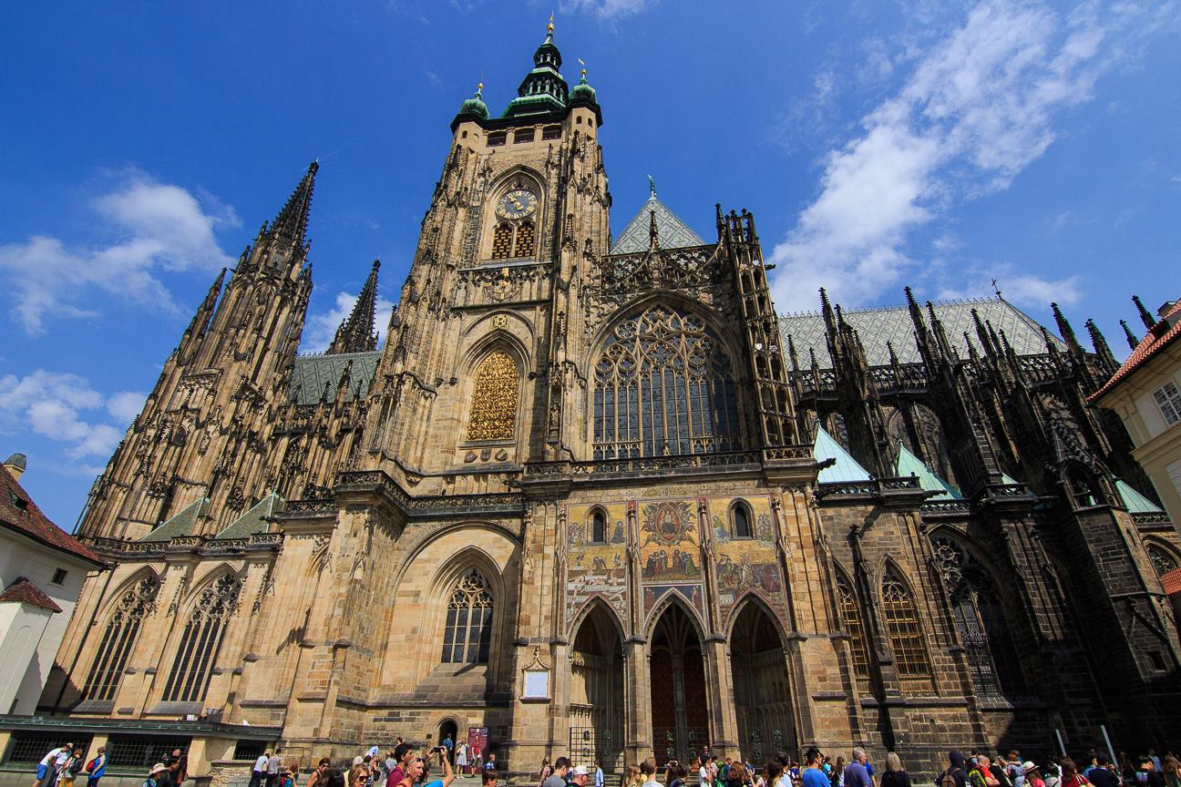 Catedral gotica del Castillo de Praga