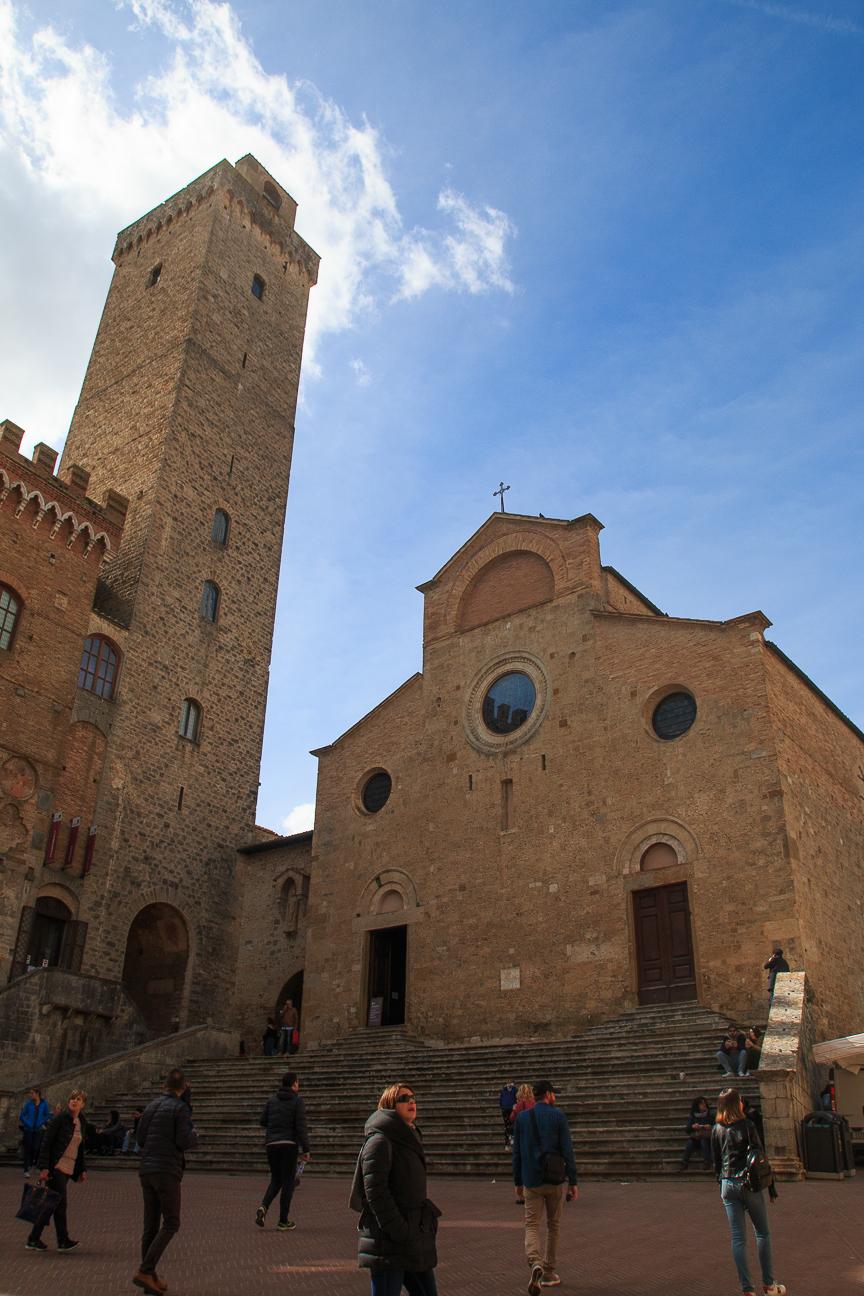 Catedral San Gimignano en Toscana