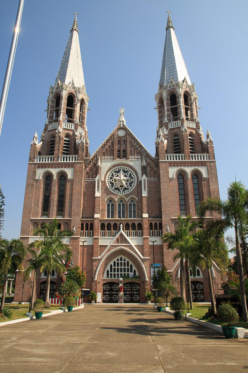 Catedral de Santa Maria en Yangon