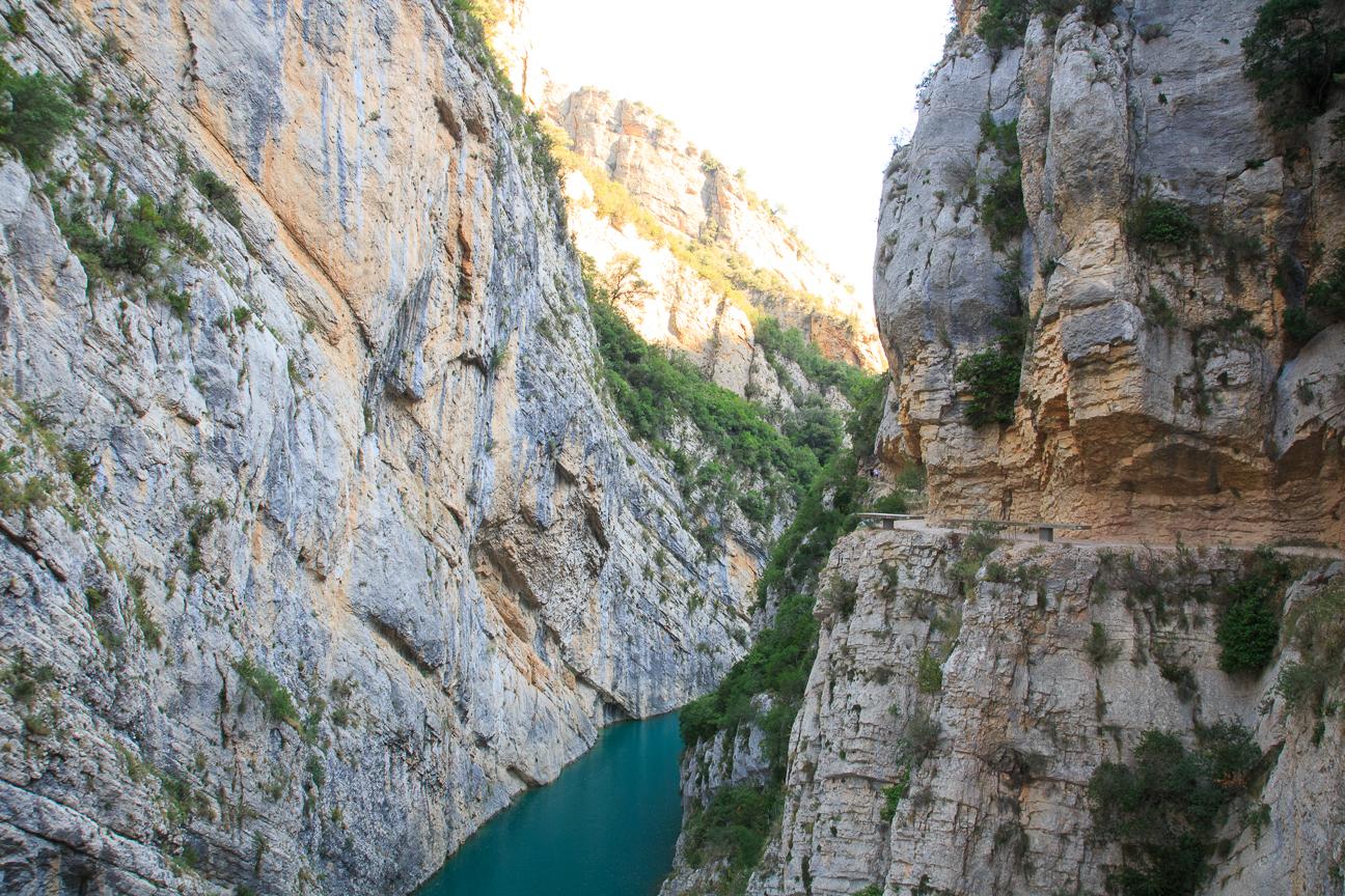 Cauce rio en Mont Rebei