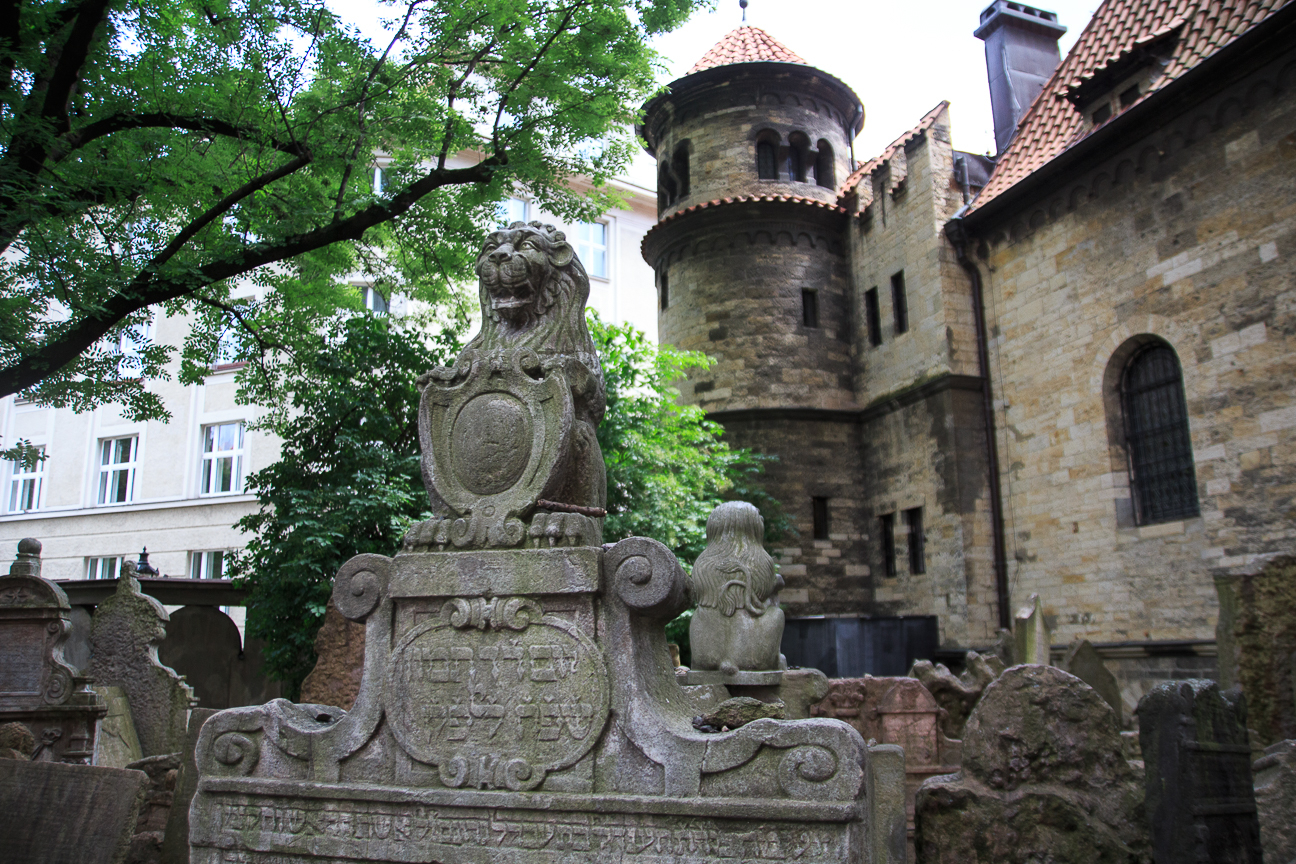 Cementerio Judio en Praga