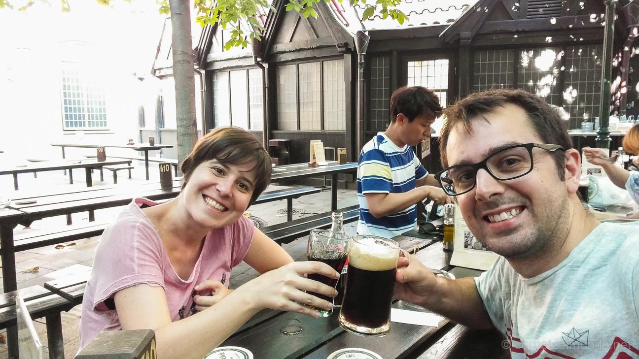 Cerveceria U Fleku en Praga