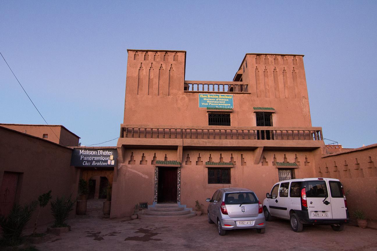 Chez Brahim en Ait Ben Haddou
