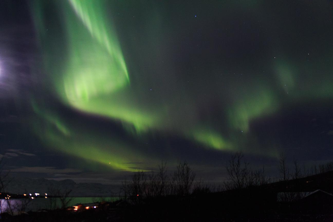 Cielo magico en Islandia