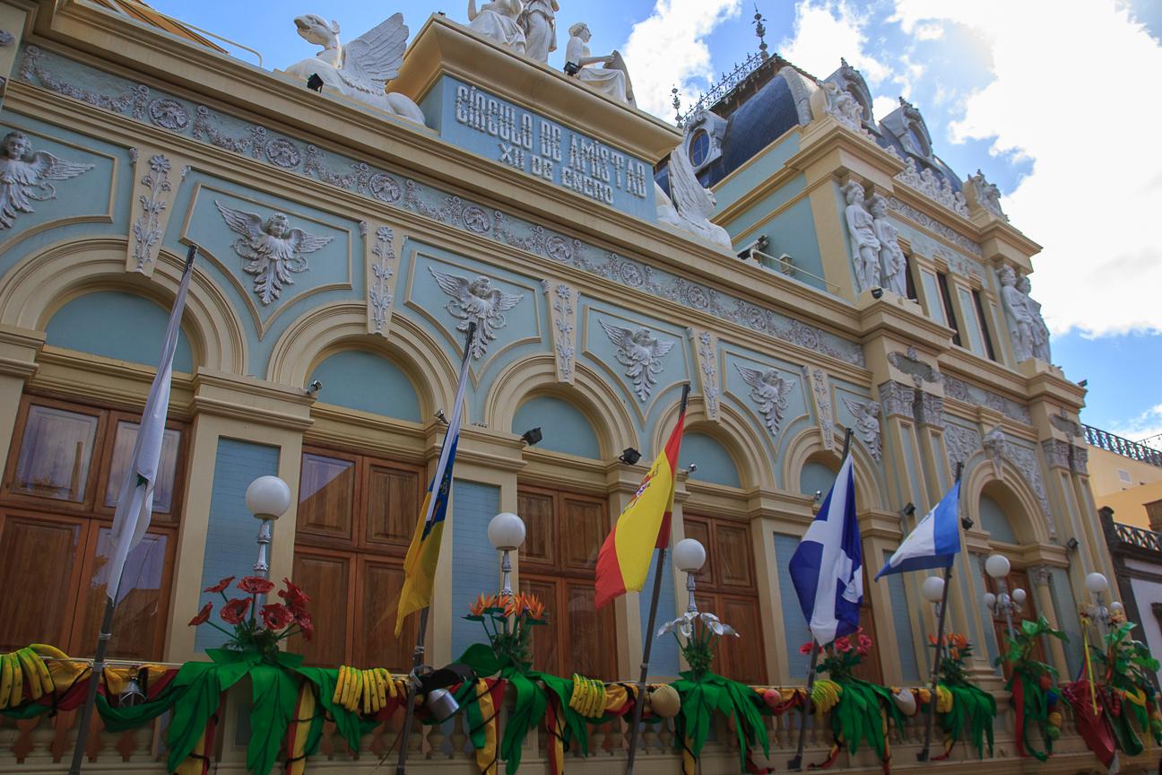 Circulo de la Amistad en Santa Cruz de Tenerife