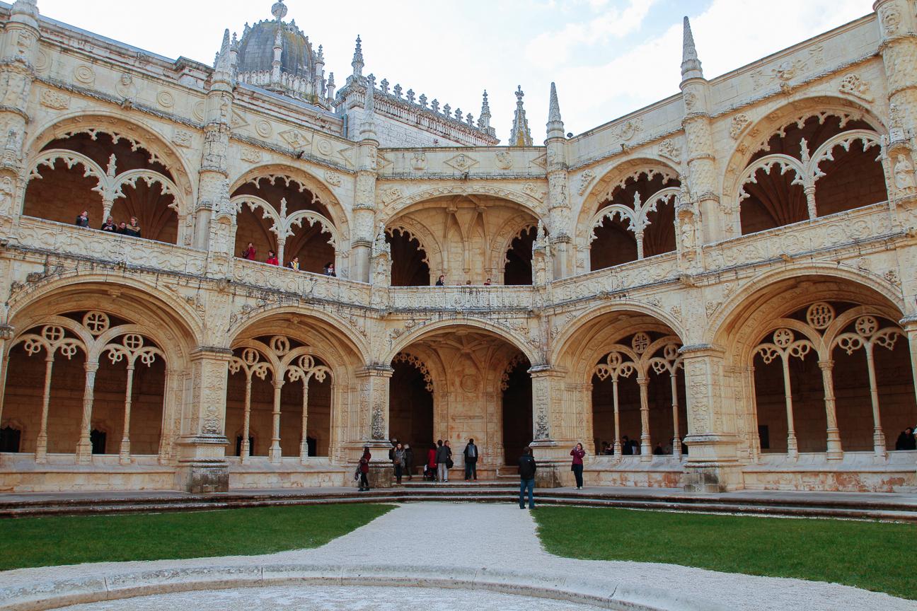 Cluastro del Monasterio de los Jeronimos