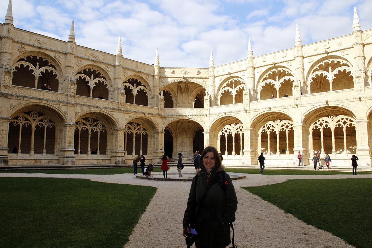 Claustro monasterio de los Jeronimos