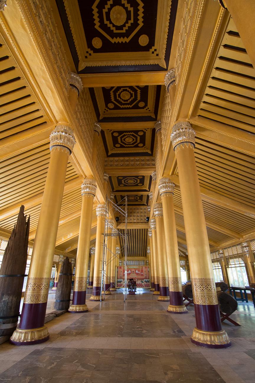 Columnas del Palacio Kanbawzathadi