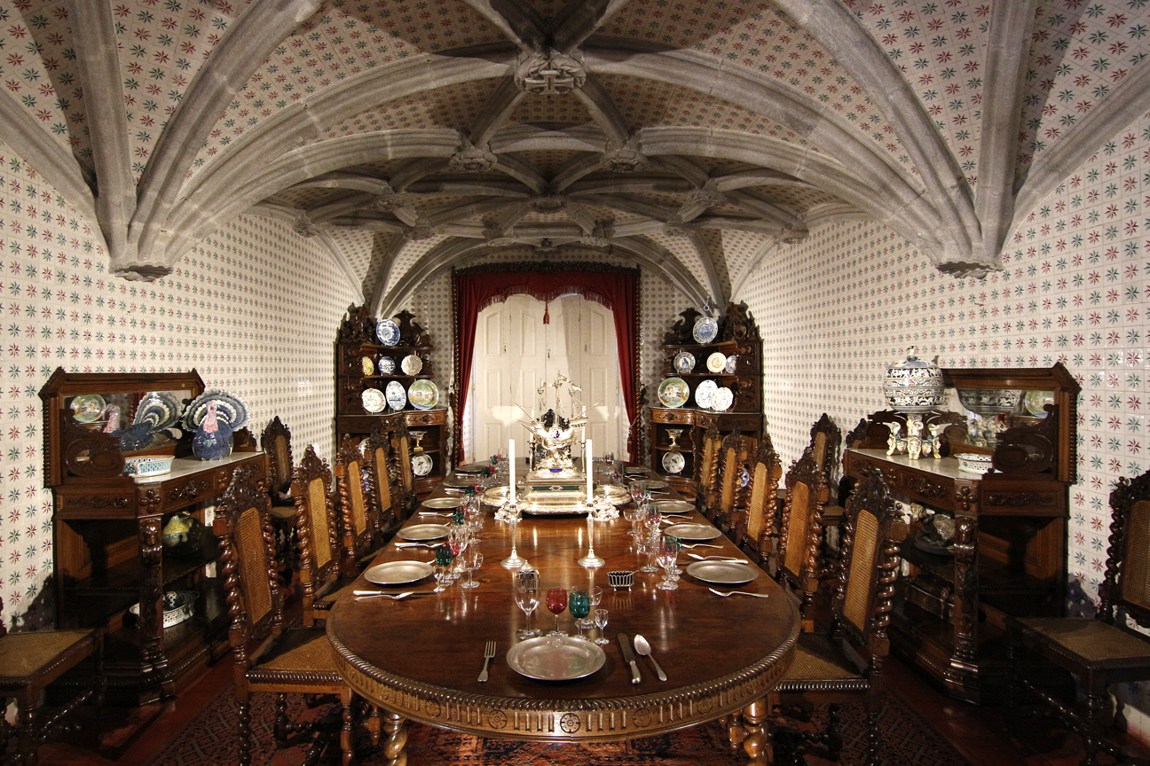 Comedor del Palacio da Pena