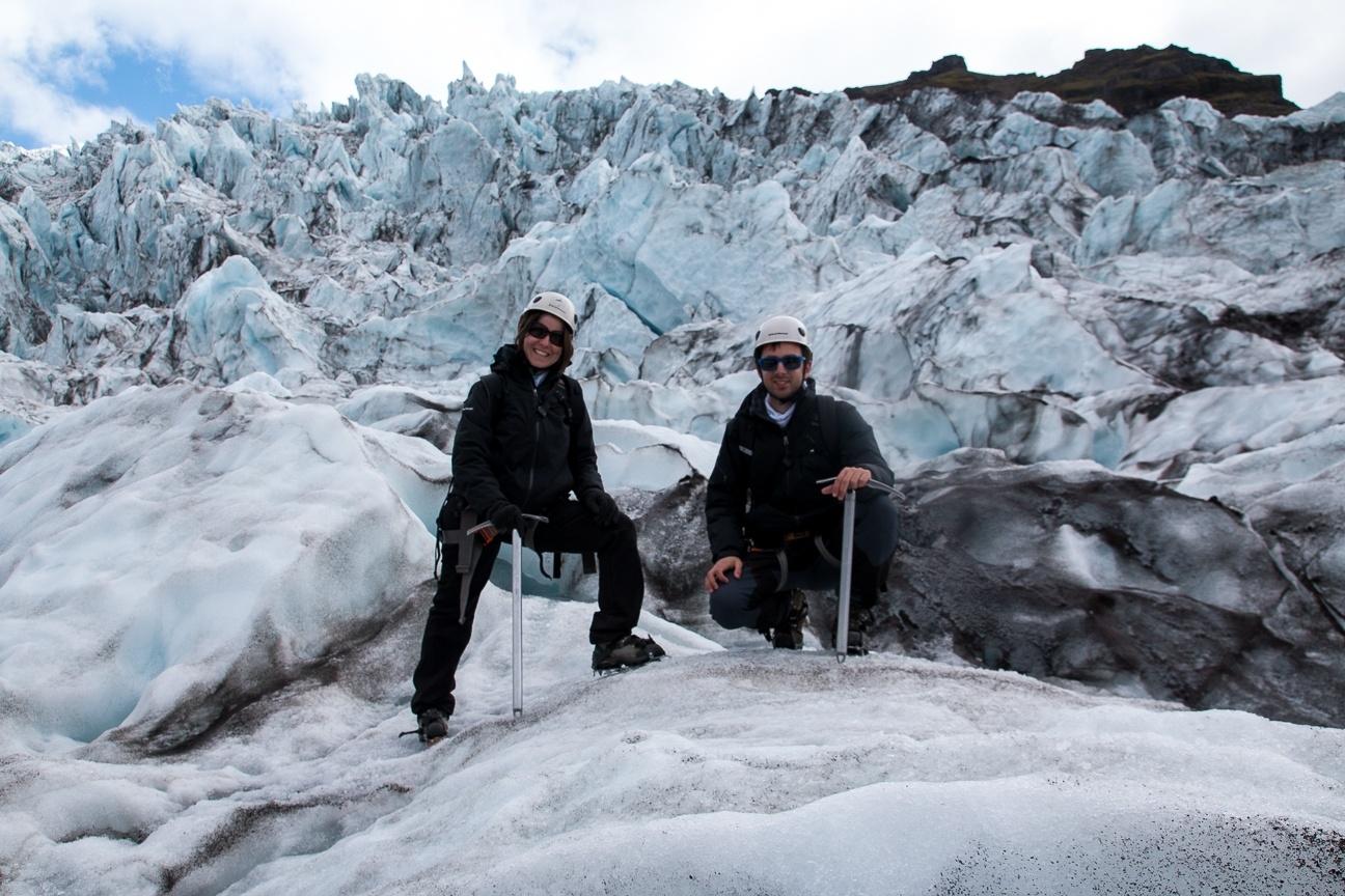 Comete el mundo en el glaciar mas grande de Europa