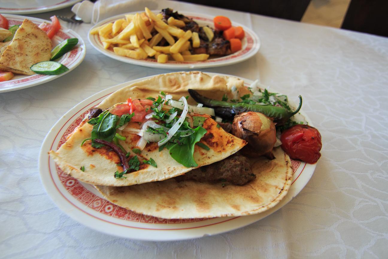 Comida barata en Jordania