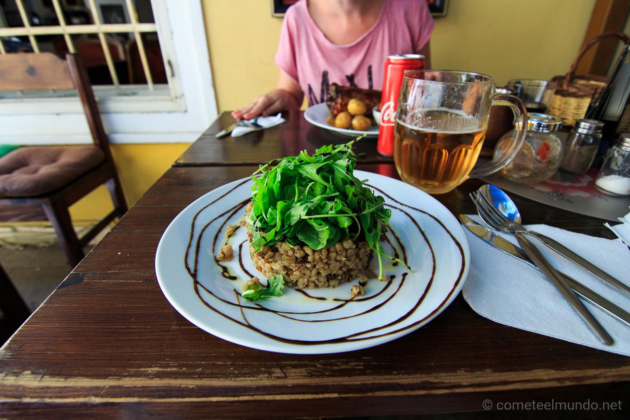 Comida tipica y barata en Praga - U Magistra Kelly