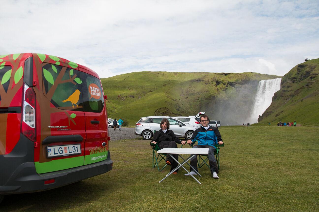 Viajar a Islandia en furgoneta