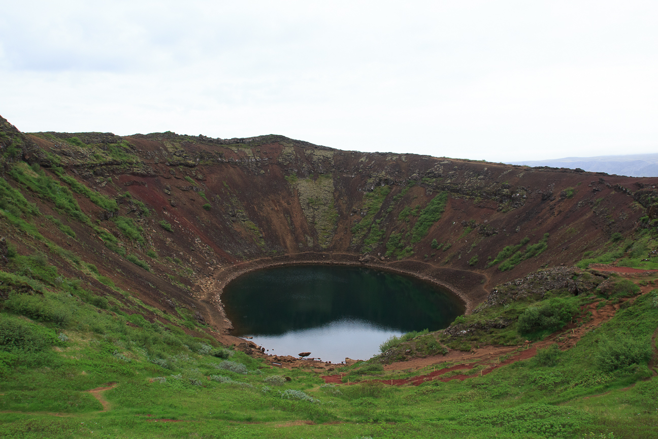 Crater del volcan Kerid