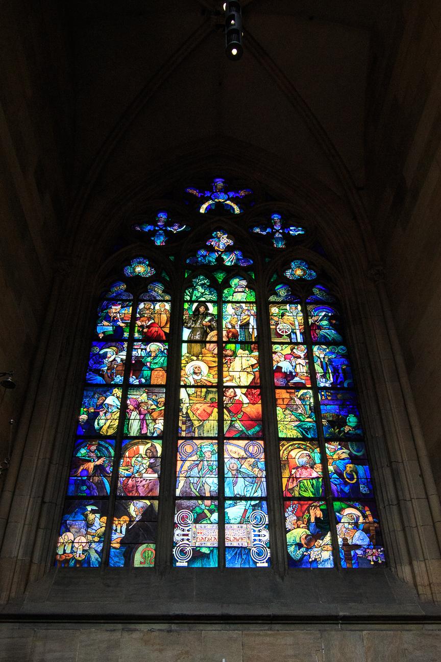 Cristalera Catedral de San Vito