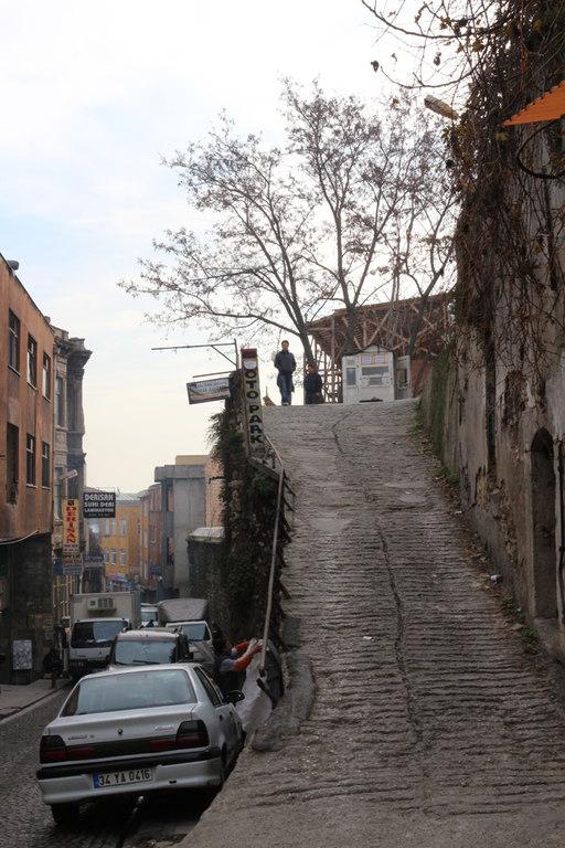 Cuestas imposibles en Estambul