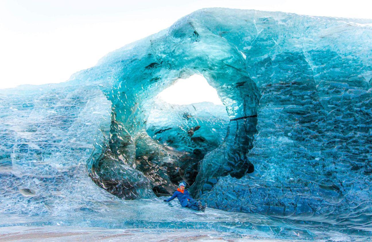 cueva de hielo de Islandia
