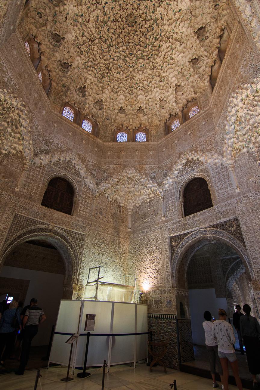 Cupula almoravide en los palacios nazaries