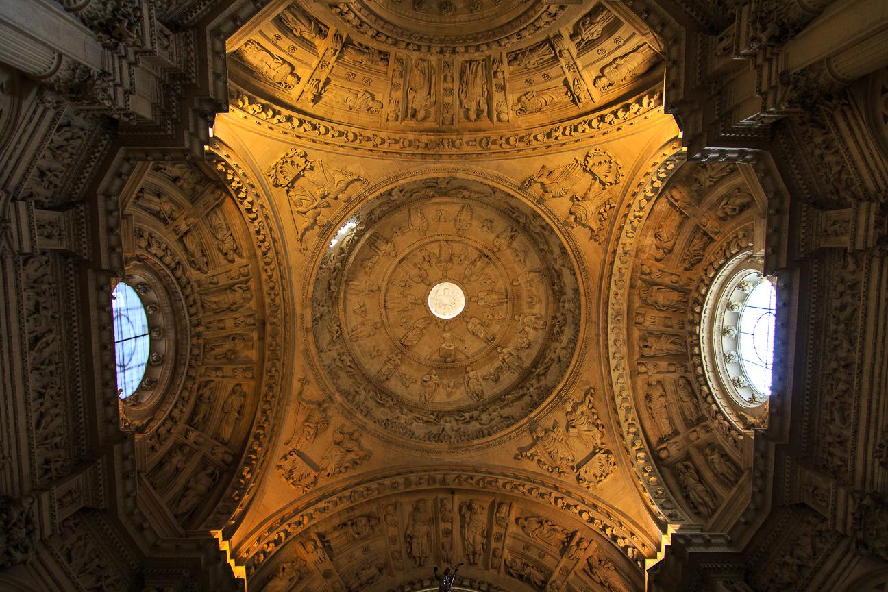 Cupula en la Catedral de Sevilla