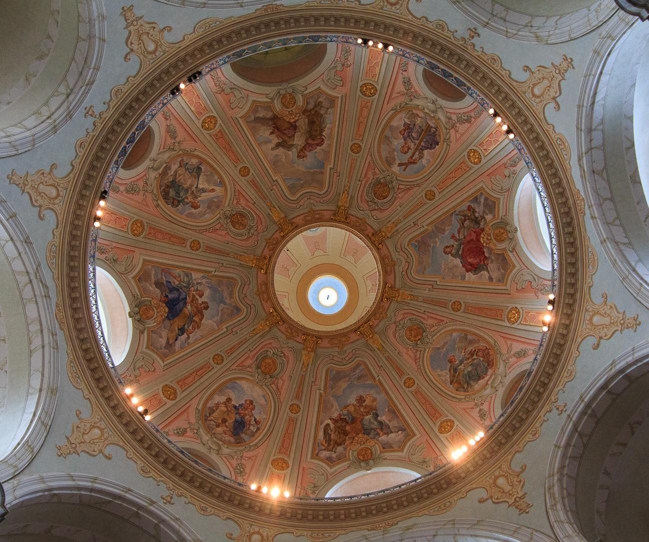 Cupula Frauenkirche Dresde Alemania