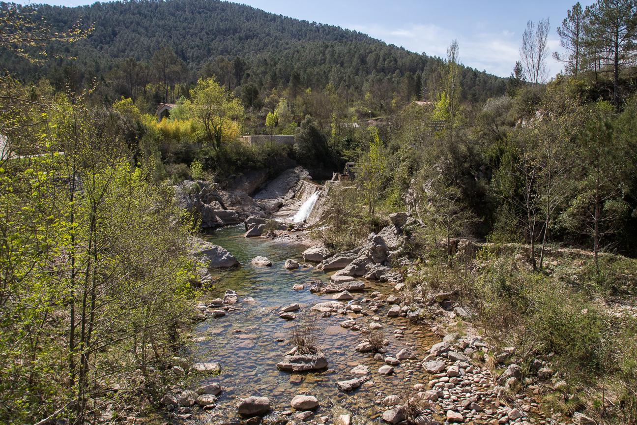 Curso del rio Muga