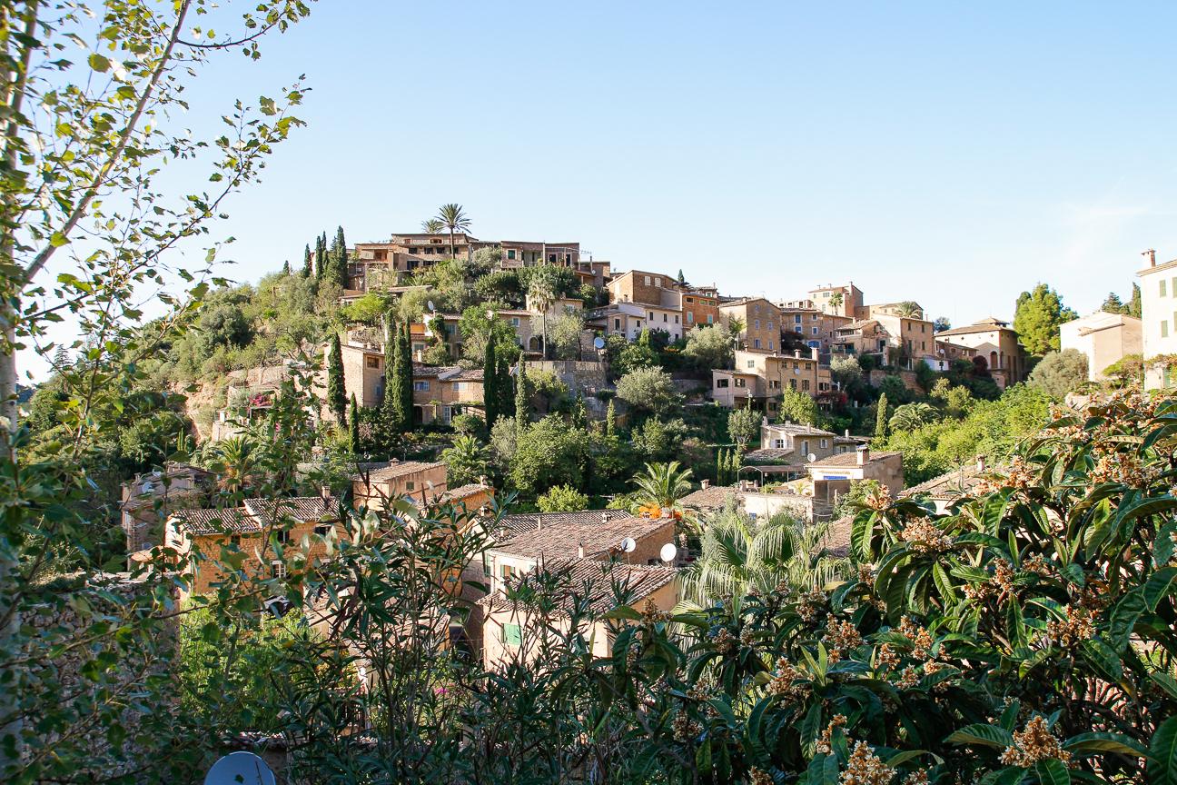 Deia en la Serra de Tramuntana de Mallorca