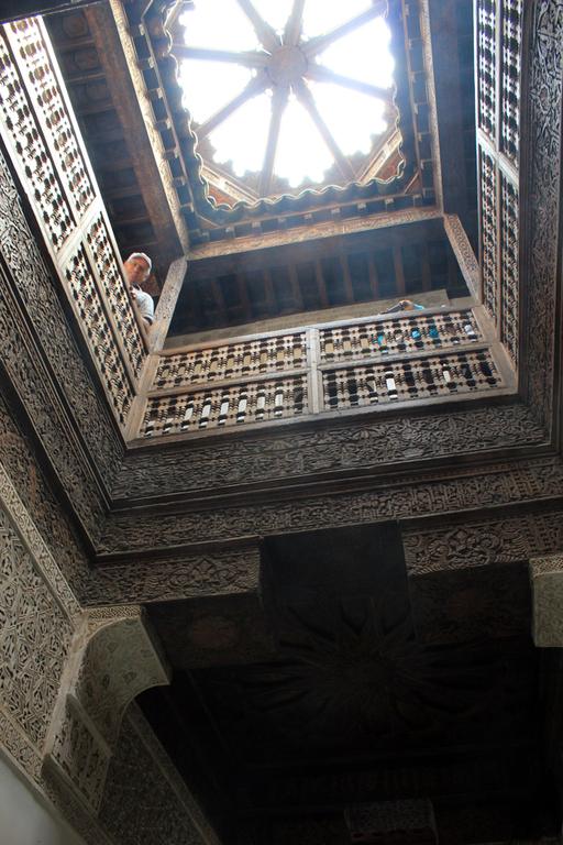 Detalle decoracion de la Madraza Ben Youssef