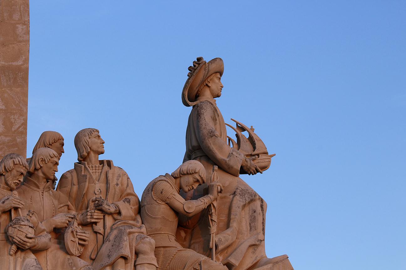 Detalle del Monumento de los Descubridores