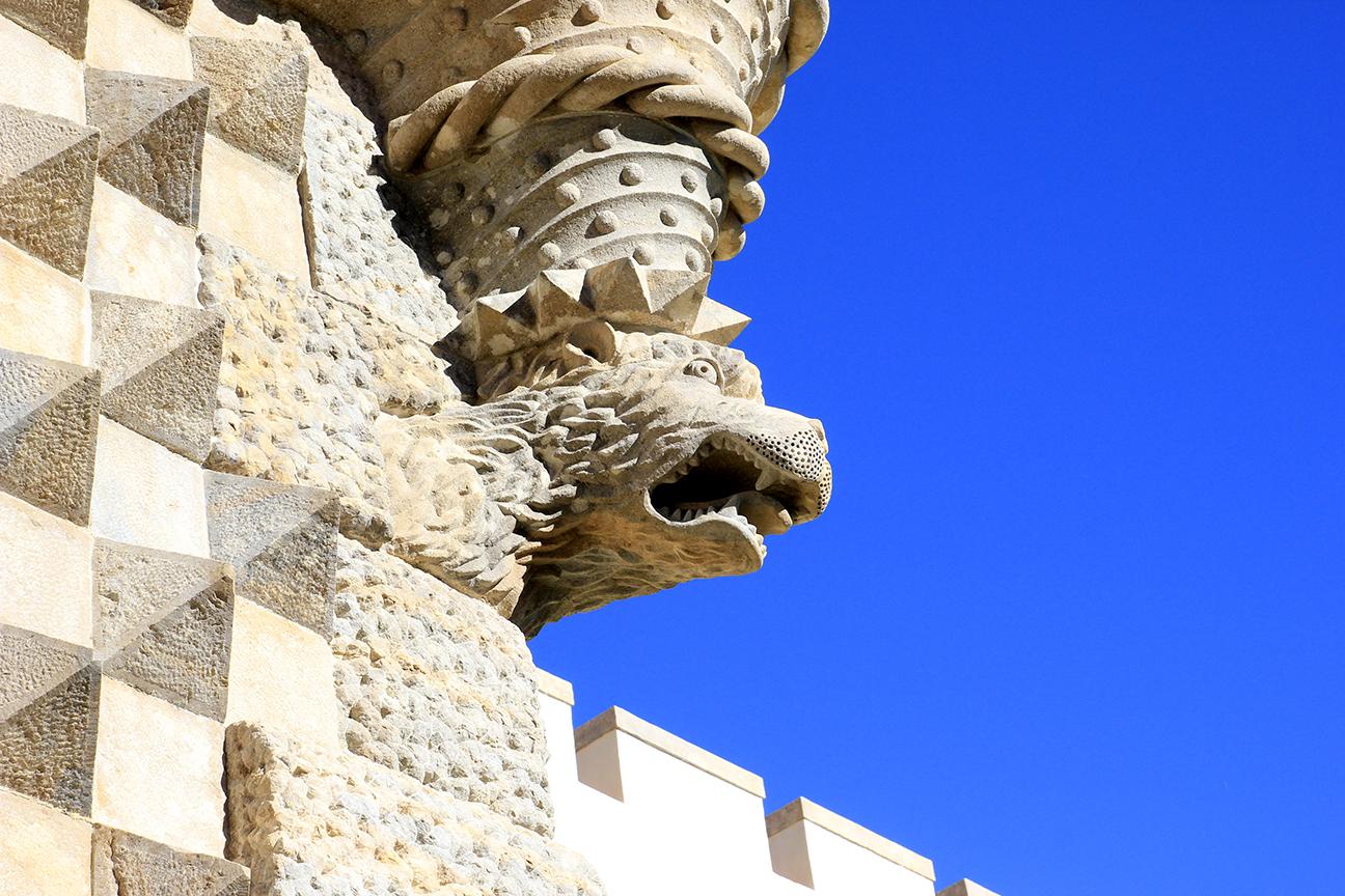 Detalles del Palacio da Pena en Sintra