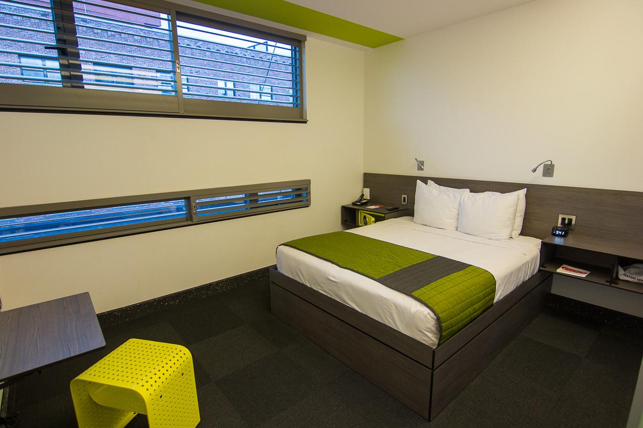 Dormir en Nueva York - Pod Hotel - Habitacion