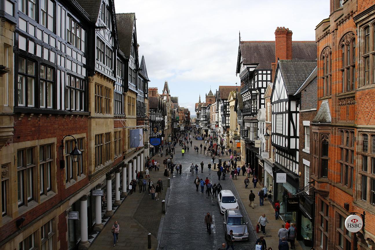 East Gate Street en Chester