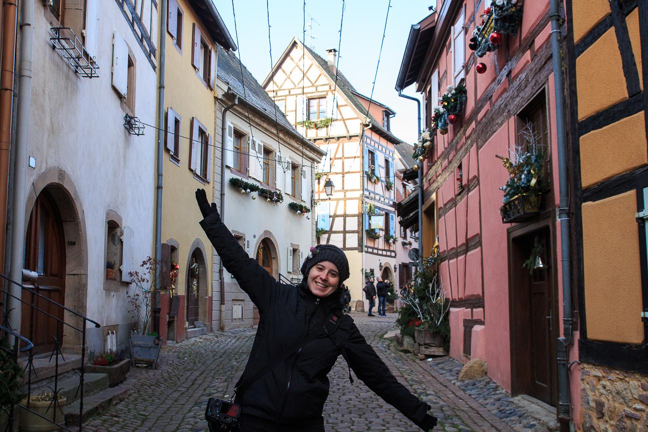 El pueblo con mas encanto de Francia - Eguisheim