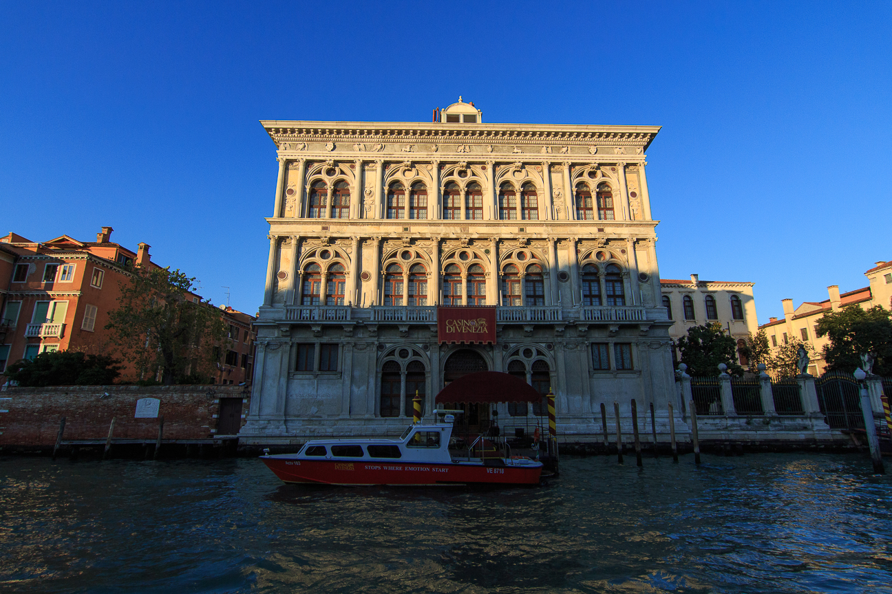 el Gran Casino de Venecia