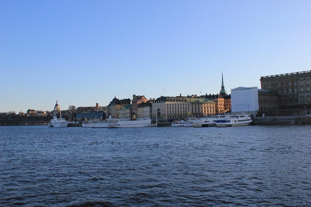 Embarcadero en Estocolmo