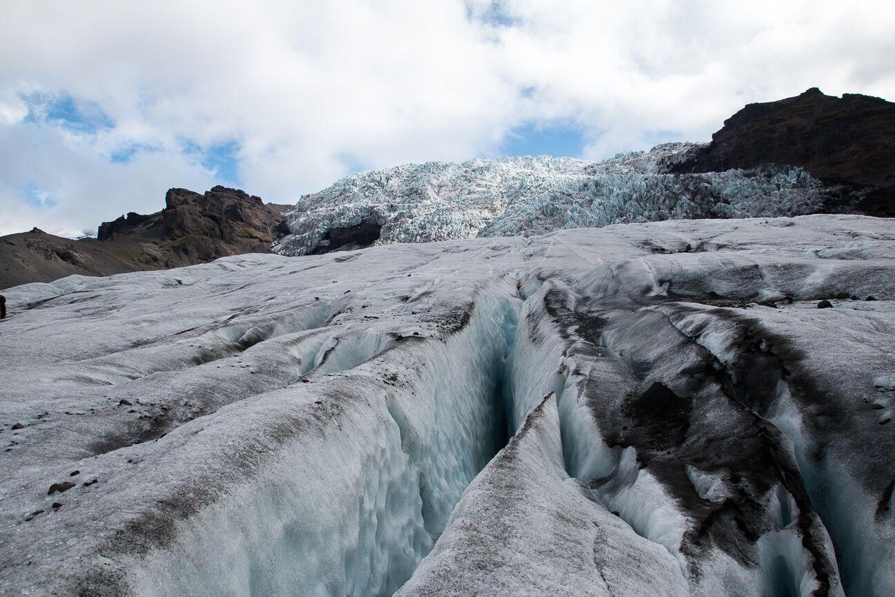 Empieza la ascension al Vatnajokull
