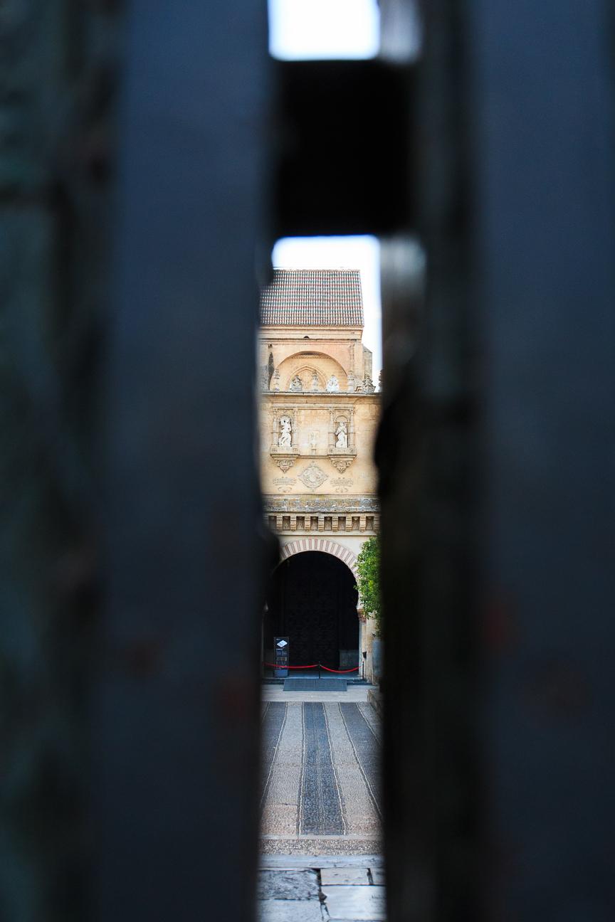 Entrada a la mezquita de Cordoba
