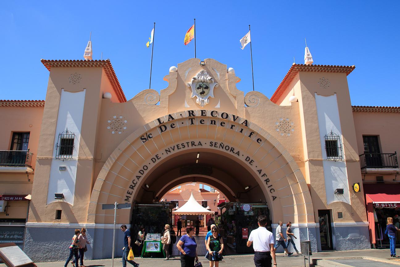Entrada al Mercado de Santa Cruz de Tenerife