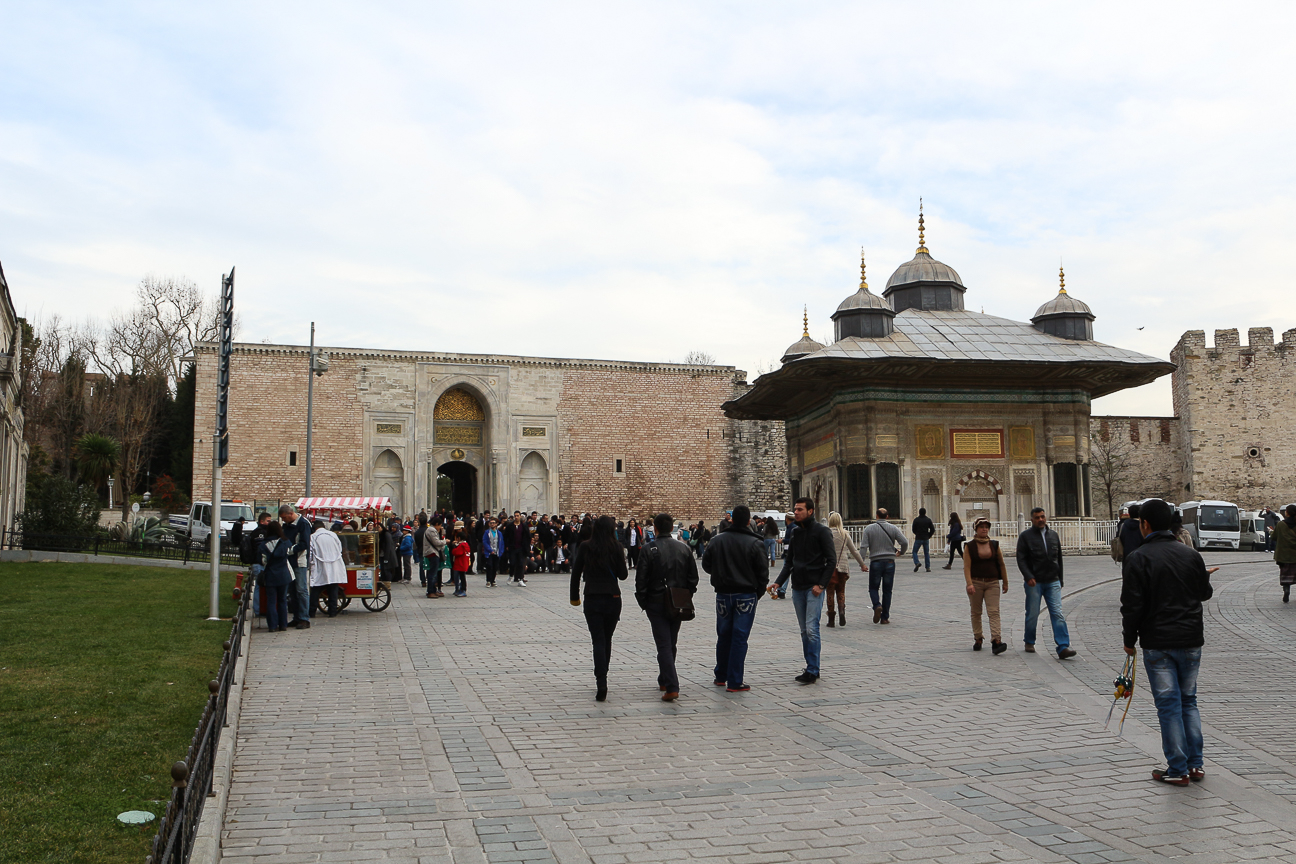 Entrada al Palacio Topkapi