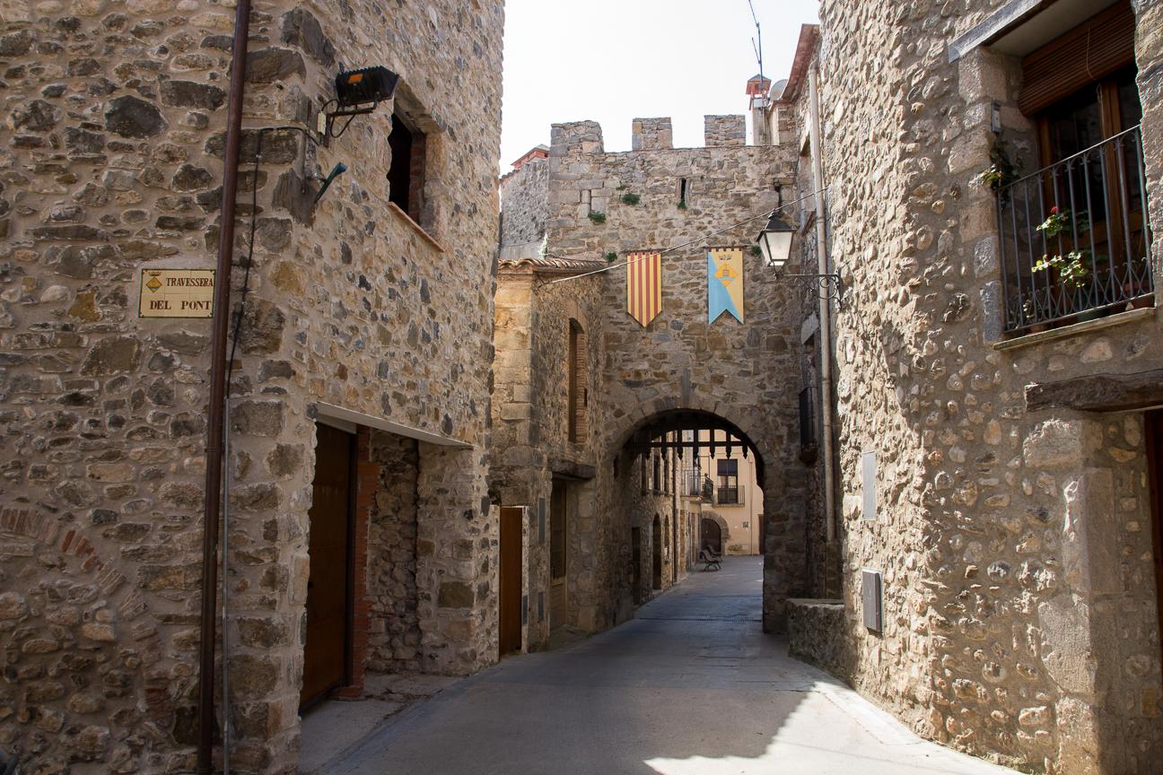 Entrada al casco historico de la ciudad