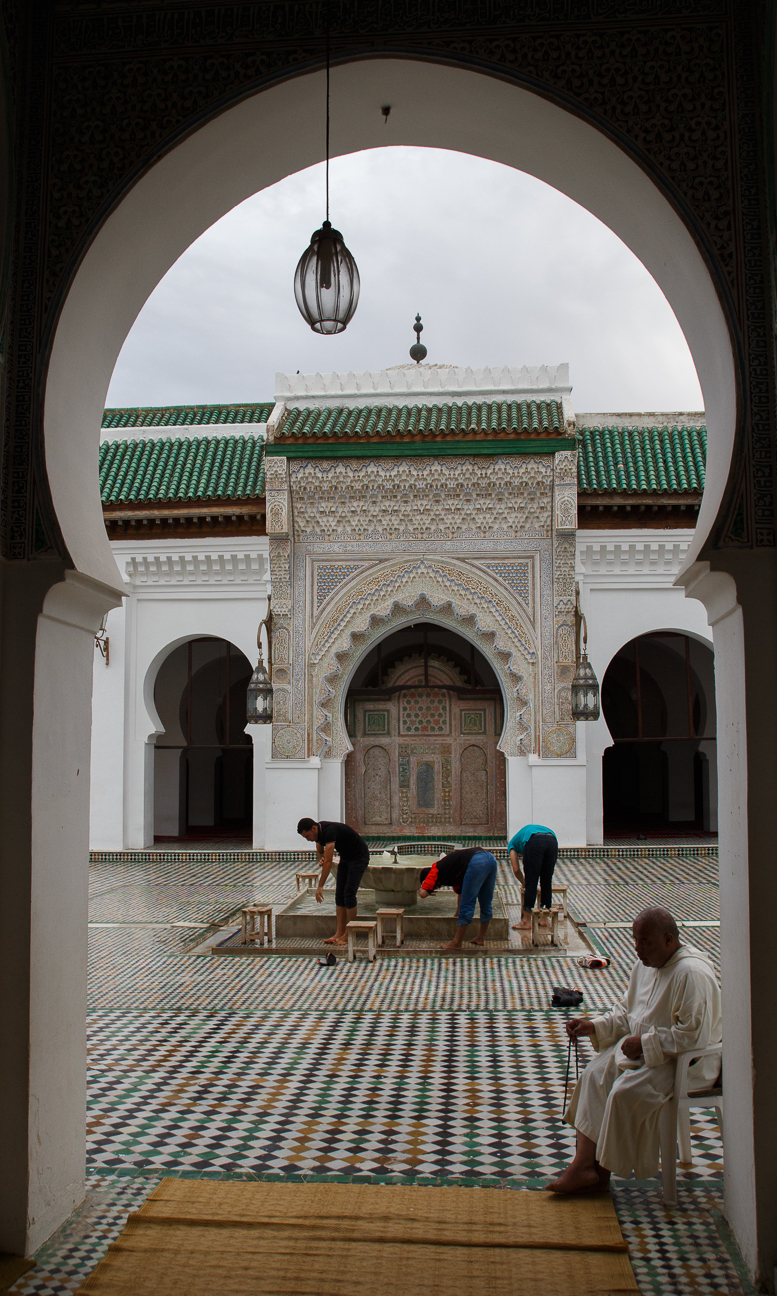 Entrada al Mausoleo Moulay Idriss