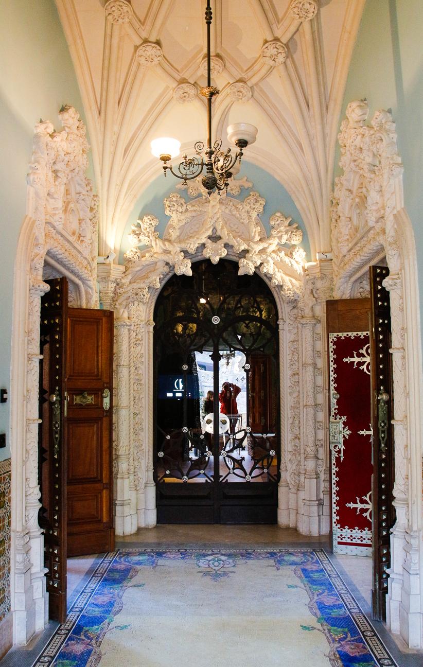 Entrada al Palacio de la Quinta
