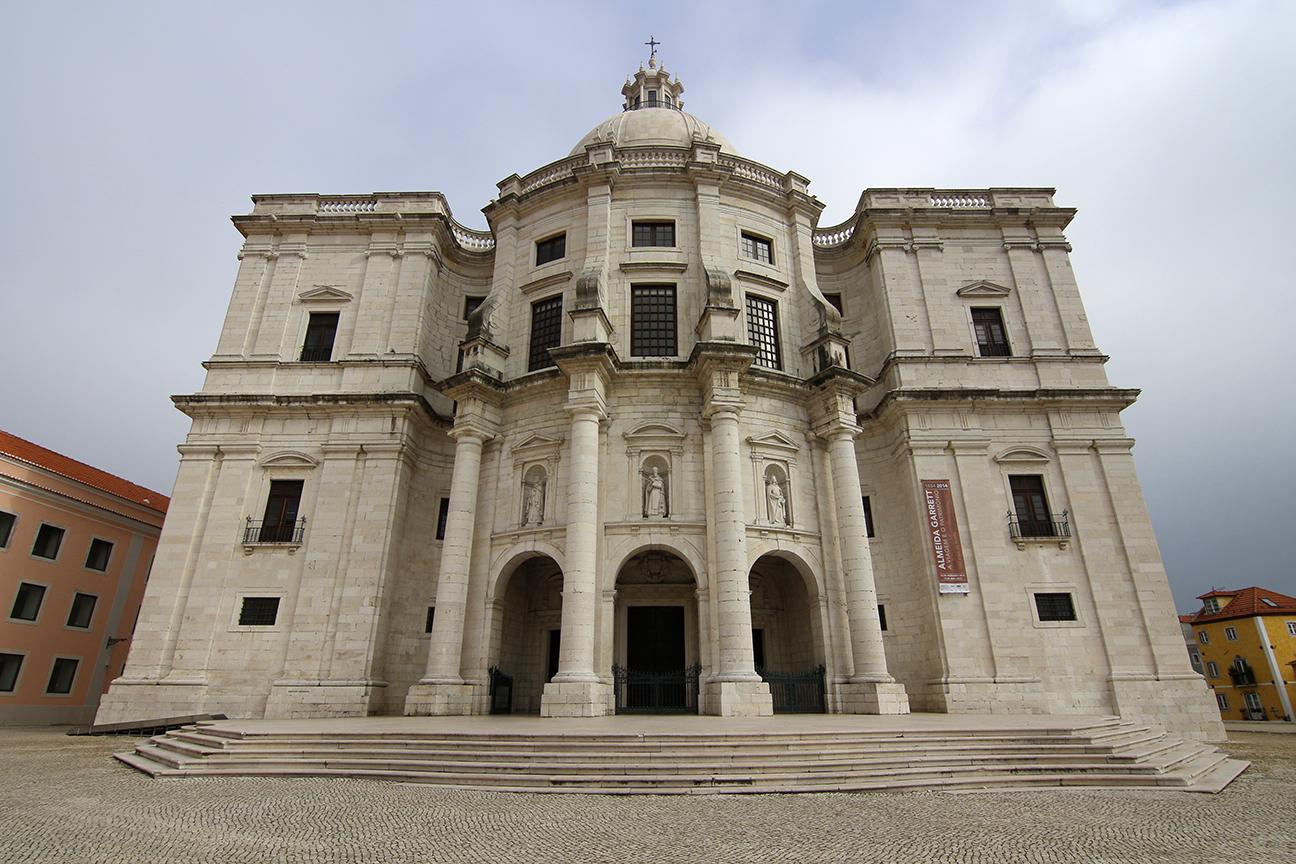 Entrada al Panteon de Lisboa