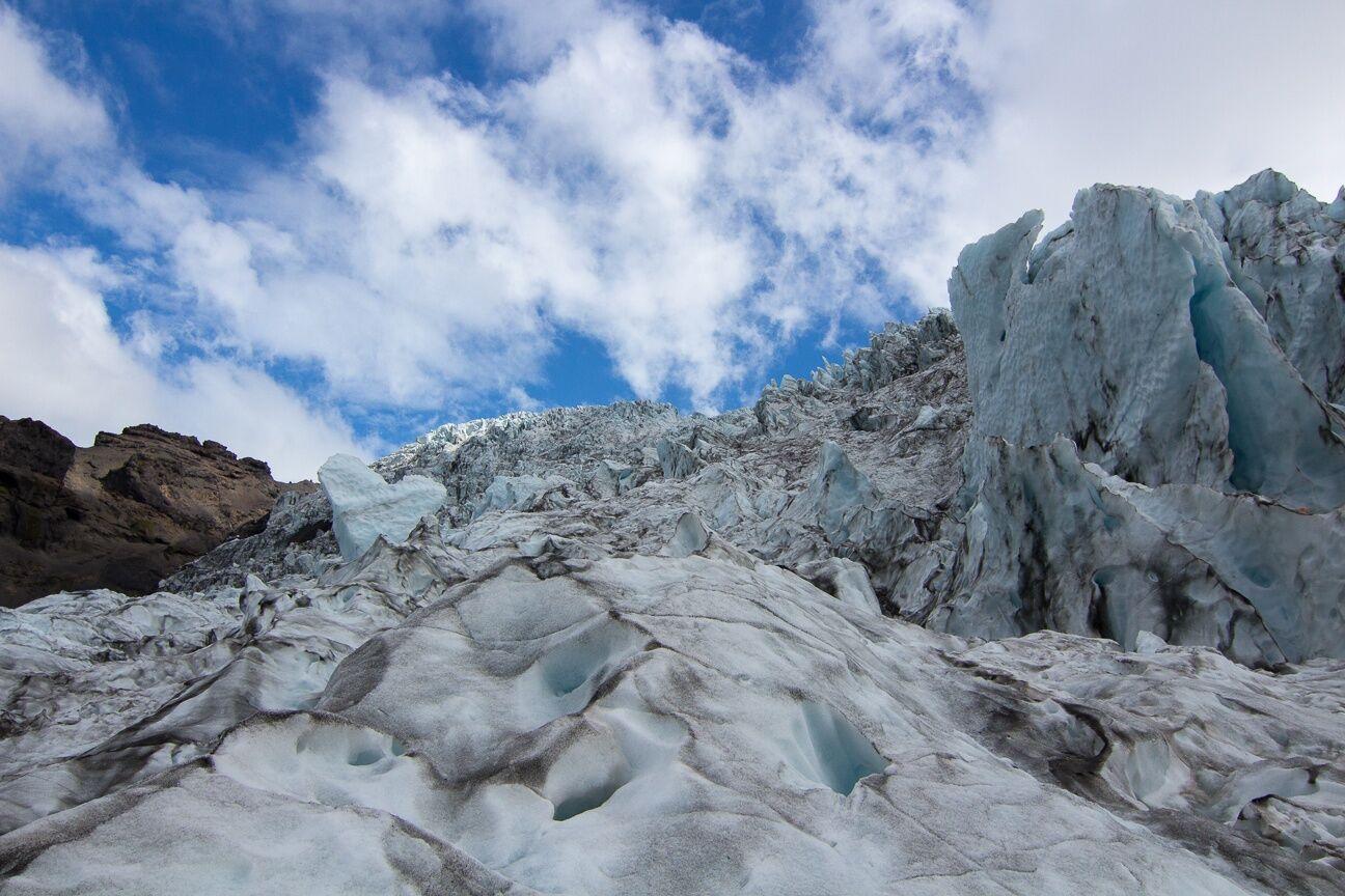 Espectacular vista del Vatnajokull