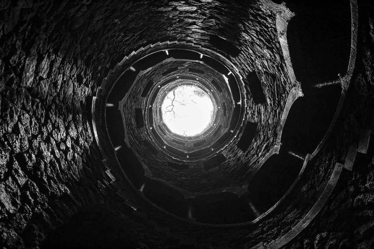 Espirales en la Quinta da Regaleira
