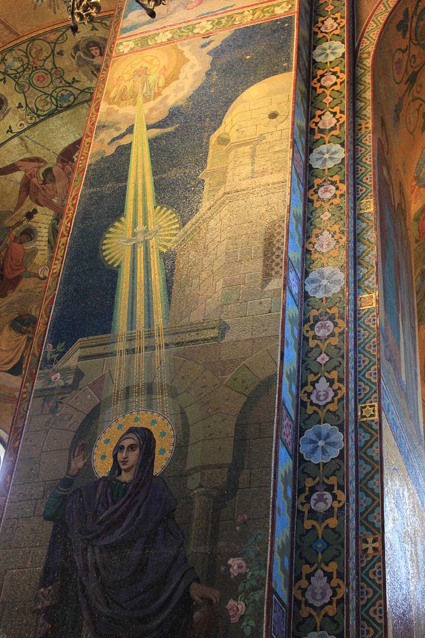 Espiritu Santo sobre Maria
