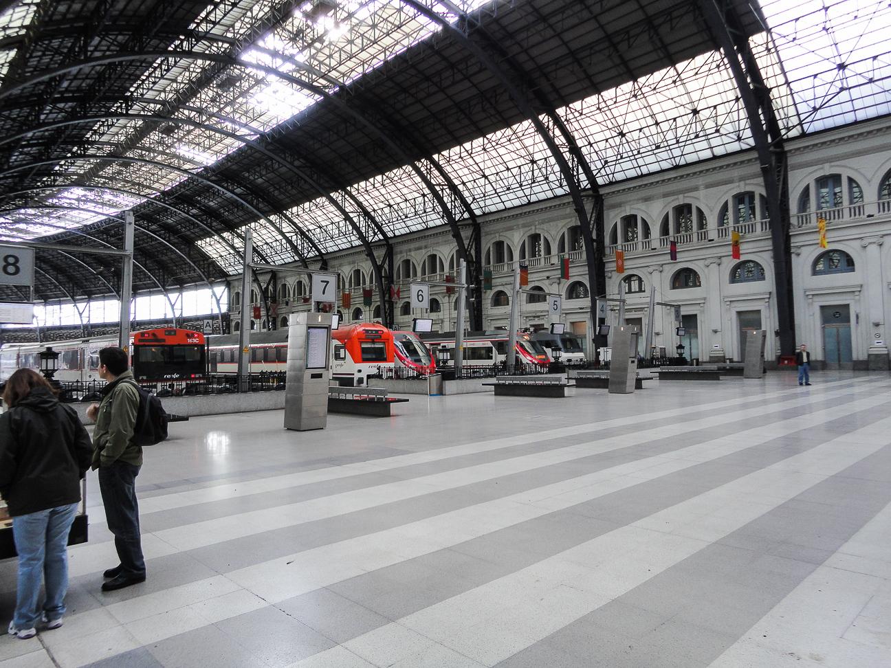 Estacion de Francia Tren Barcelona