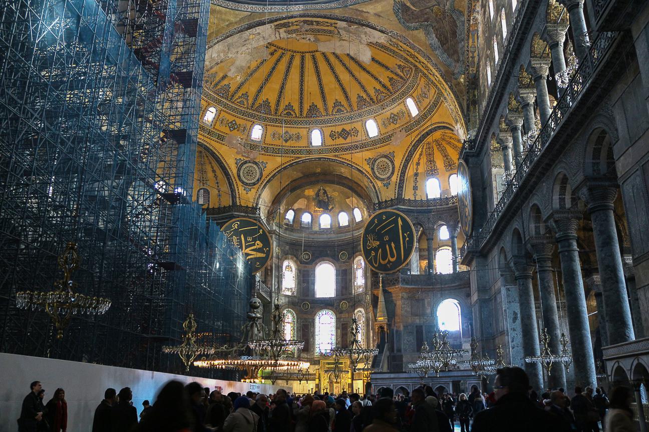 Estambul en 4 dias Santa Sofia